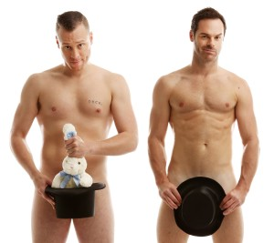 The Naked Magicians Christopher  Wayne & Mike Tyler - Trafalgar Studios 31 Aug - 24 Sep (2)