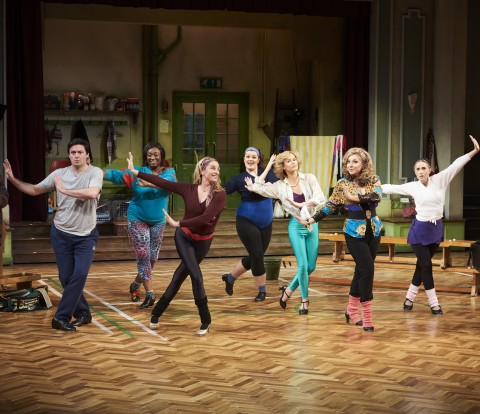 The cast of Stepping Out. Photo credit Ray Burmiston