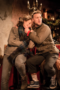 Becca Marriott as Mimi & Roger Paterson as Ralph in LA BOHEME. Credit Scott Rylander